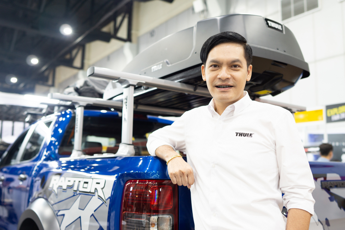 """Thule"" products with hot promotions at NG Explorers Fair 2019"
