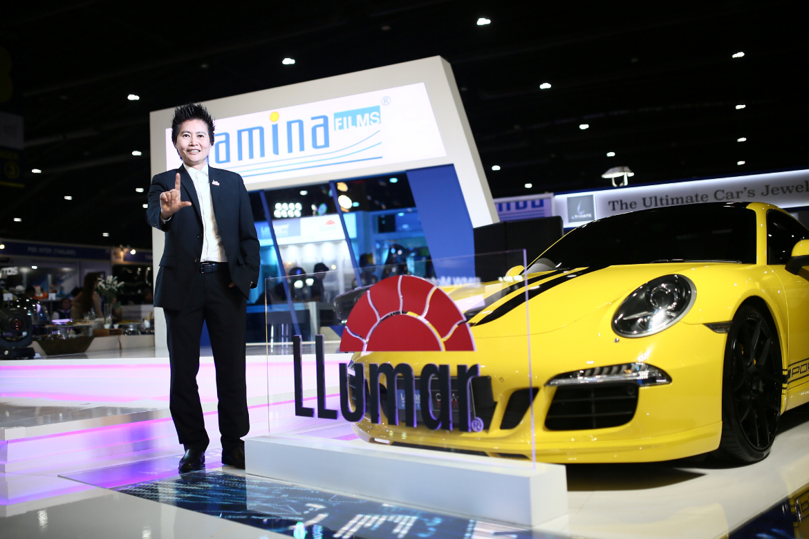 Introducing the new product, 'Lumar Paint Protection Film Platinum', the first country in ASEAN.
